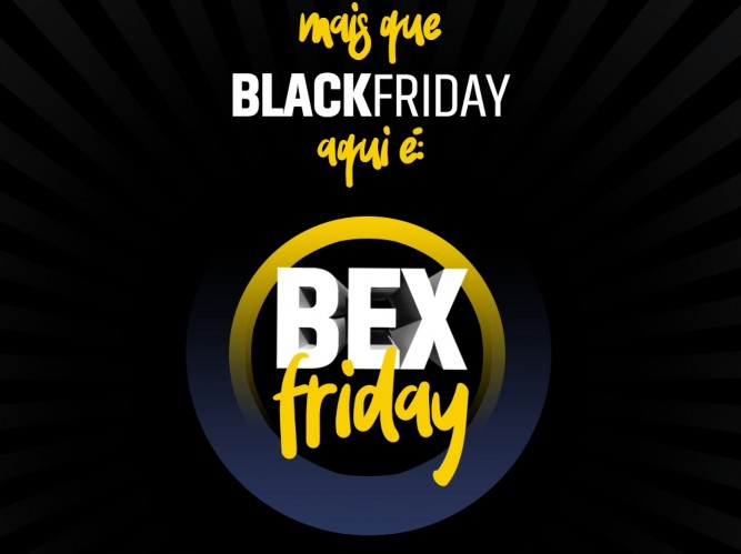 Black Friday na BEX